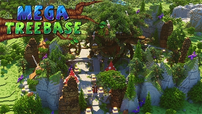Mega Tree Base on the Minecraft Marketplace by Diluvian