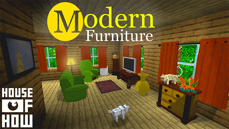 Modern Furniture on the Minecraft Marketplace by House of How