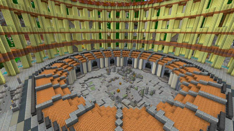 Roman Temple by Shaliquinn's Schematics