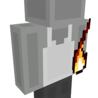Flame Fist Left on the Minecraft Marketplace by The World Foundry