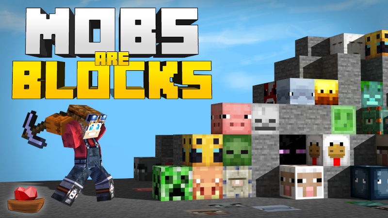 Mobs Are Blocks on the Minecraft Marketplace by Lifeboat