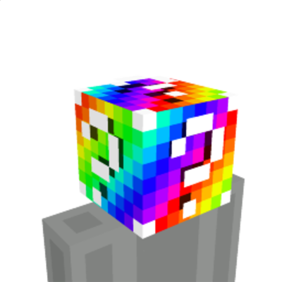 Rainbow Lucky Block on the Minecraft Marketplace by Cleverlike