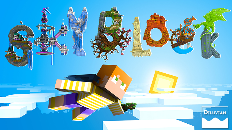 S K Y B L O C K  on the Minecraft Marketplace by Diluvian