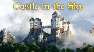 Castle in the Sky on the Minecraft Marketplace by King Cube