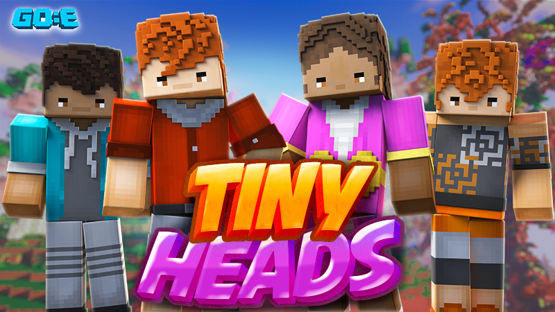 Tiny Heads on the Minecraft Marketplace by GoE-Craft