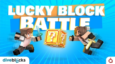 Lucky Block Battle on the Minecraft Marketplace by Diveblocks