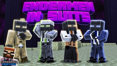 Endermen In Suits on the Minecraft Marketplace by Tomhmagic Creations