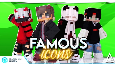Famous Icons on the Minecraft Marketplace by Ready, Set, Block!