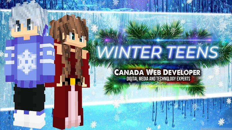 Winter Teens on the Minecraft Marketplace by Canada Web Developer