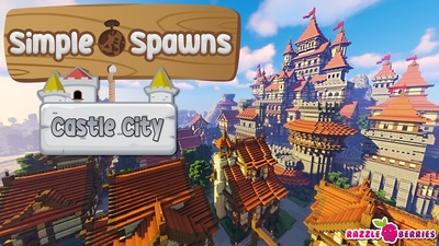 Simple Spawns Castle City on the Minecraft Marketplace by Razzleberries