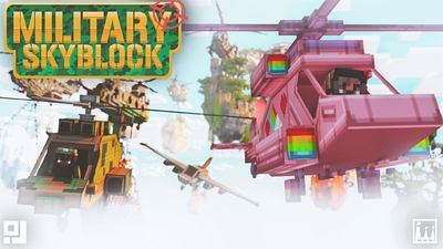 Military Skyblock on the Minecraft Marketplace by inPixel