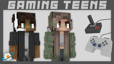 Gaming Teens on the Minecraft Marketplace by NovaEGG