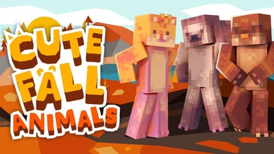 Cute Fall Animals on the Minecraft Marketplace by Podcrash