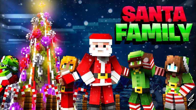 Santa Family on the Minecraft Marketplace by Senior Studios