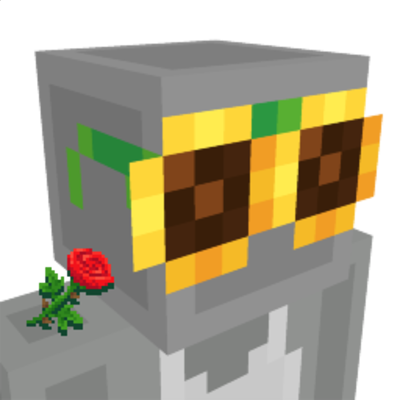 Sunflower Sunglasses on the Minecraft Marketplace by Gamemode One