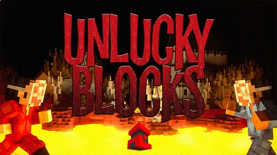 Unlucky Blocks on the Minecraft Marketplace by Project Moonboot