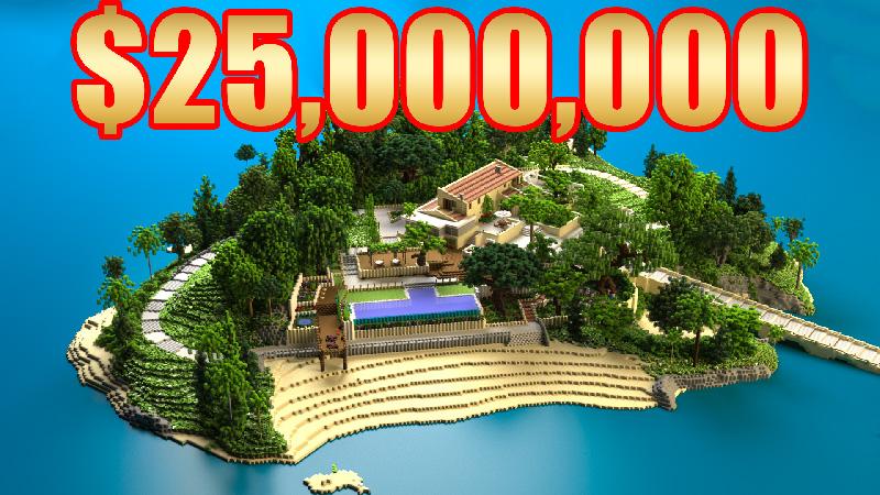 Millionaire Island on the Minecraft Marketplace by 4KS Studios