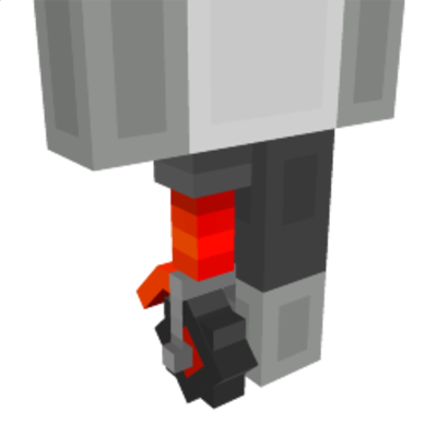 Wheeled Robot Leg on the Minecraft Marketplace by Syclone Studios