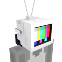 Tv Head on the Minecraft Marketplace by Glowfischdesigns