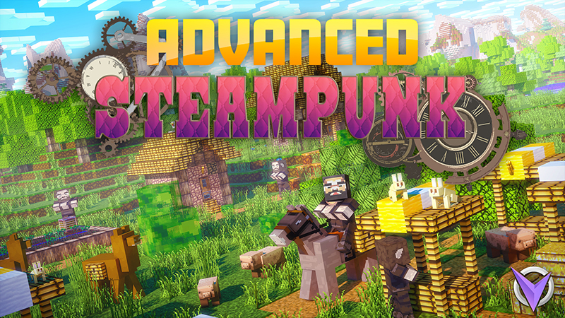 Advanced Steampunk on the Minecraft Marketplace by Team Visionary