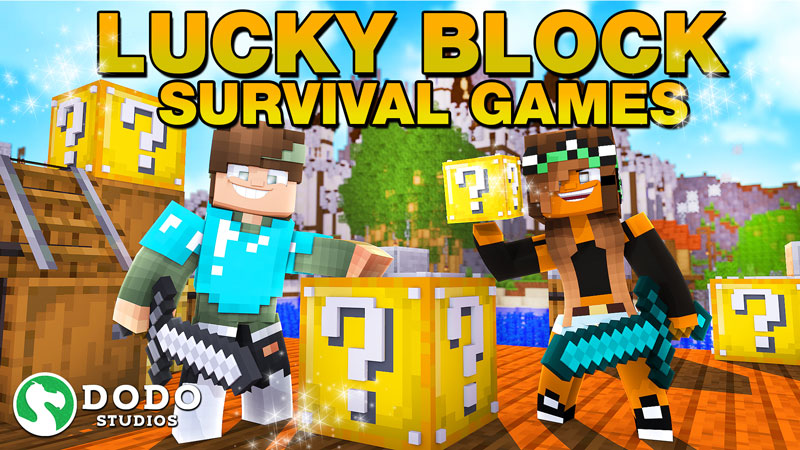 Lucky Block Survival Games on the Minecraft Marketplace by Dodo Studios
