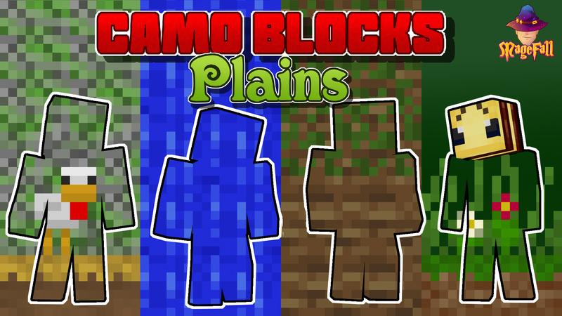 Camo Blocks: Plains
