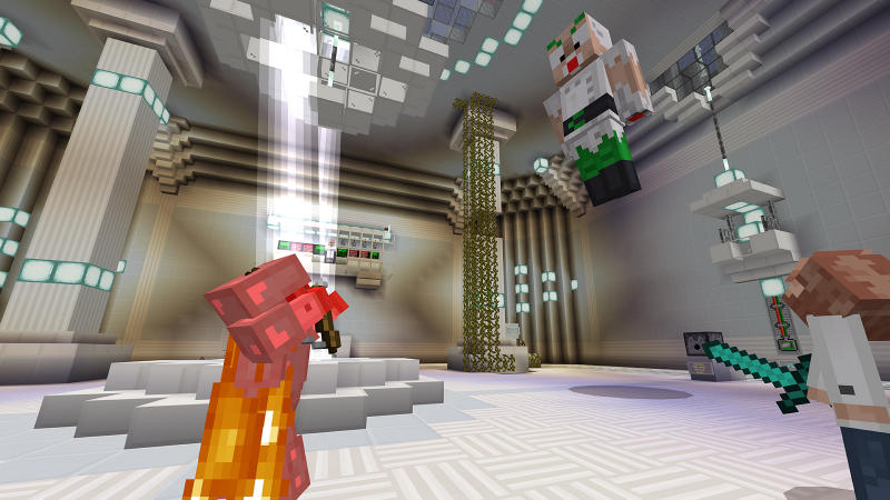 Dr. Splice's Lab Escape on the Minecraft Marketplace by 57Digital