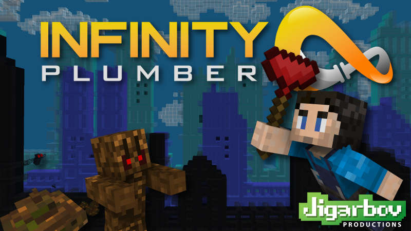 Infinity Plumber on the Minecraft Marketplace by Jigarbov Productions