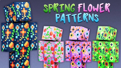 Spring Flower Patterns on the Minecraft Marketplace by 57Digital