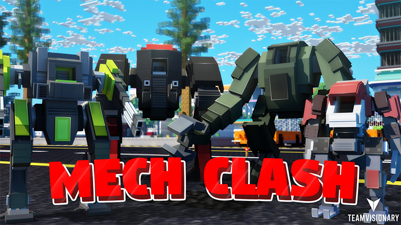 Mech Clash on the Minecraft Marketplace by Team Visionary