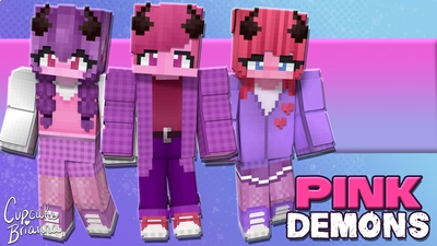 Pink Demons HD Skin Pack on the Minecraft Marketplace by CupcakeBrianna