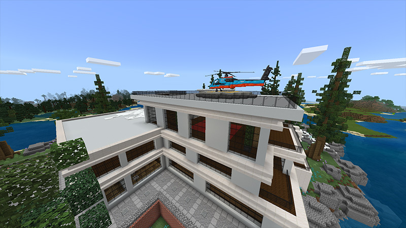 Superhero Base by Odyssey Builds