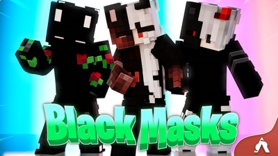 Black Masks on the Minecraft Marketplace by Atheris Games