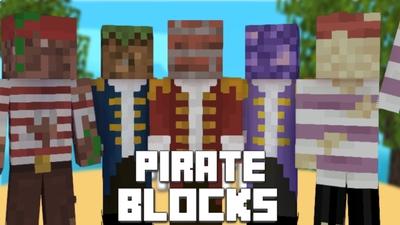 Pirate Blocks on the Minecraft Marketplace by Pixelationz Studios