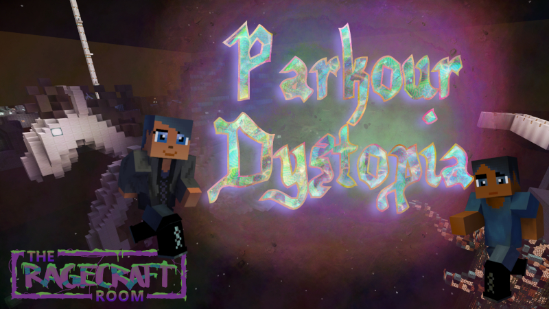Parkour Dystopia on the Minecraft Marketplace by The Rage Craft Room