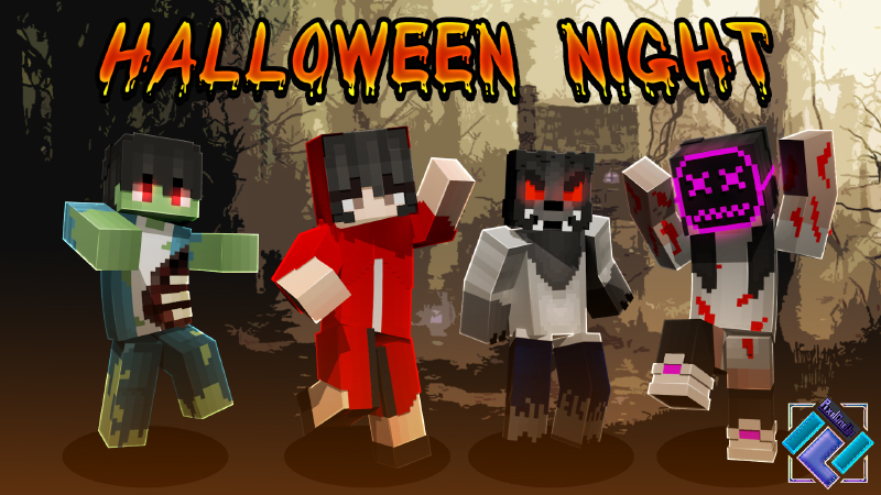 Halloween Night on the Minecraft Marketplace by PixelOneUp