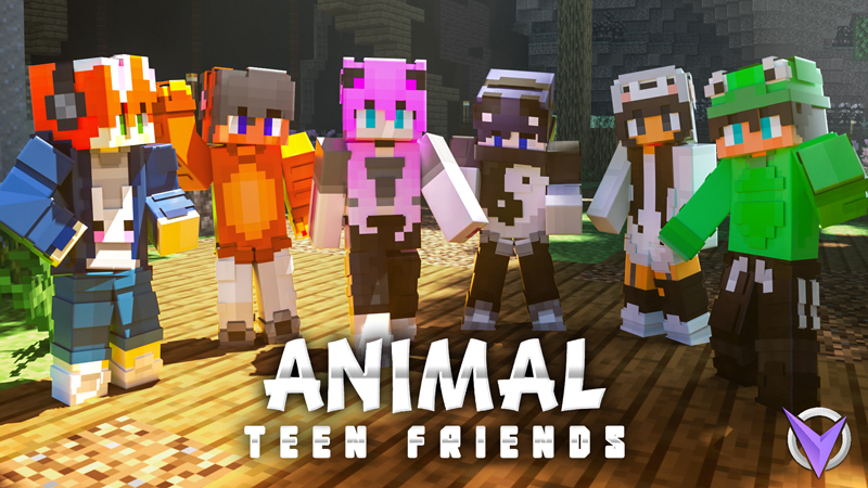 Animal Teen Friends