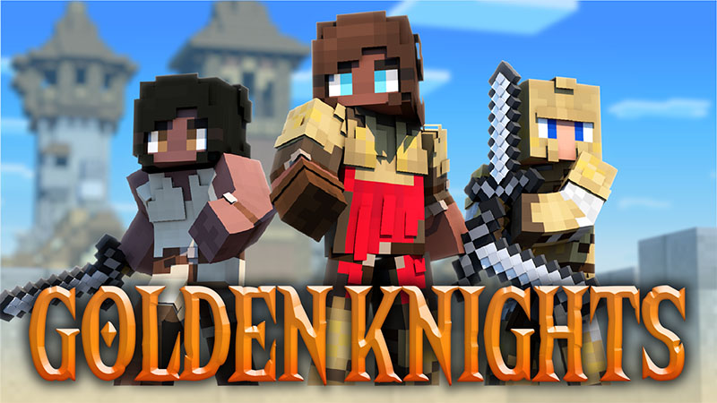 Golden Knights on the Minecraft Marketplace by Mine-North