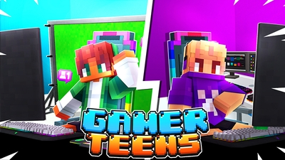 Gamer Teens on the Minecraft Marketplace by Mine-North