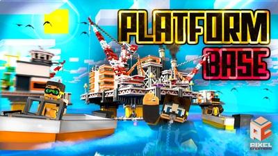 Platform Base on the Minecraft Marketplace by BLOCKLAB Studios