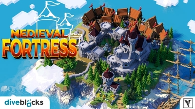 Medieval Fortress on the Minecraft Marketplace by Diveblocks