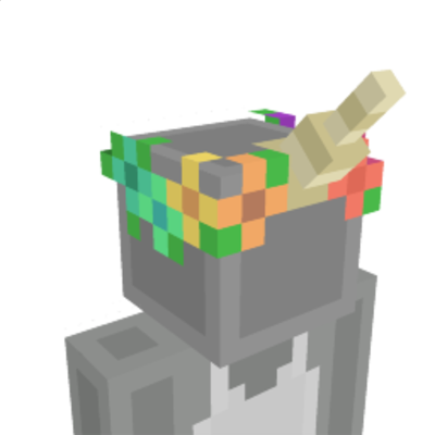 Unicorn Crown on the Minecraft Marketplace by Giggle Block Studios
