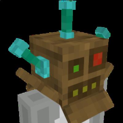 Cardboard Box Robot on the Minecraft Marketplace by Dragnoz