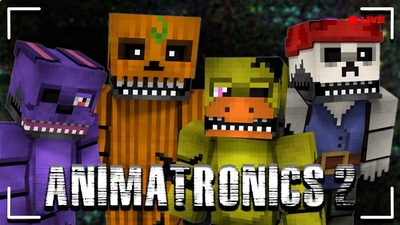 Animatronics 2 HD Skin Pack on the Minecraft Marketplace by CupcakeBrianna