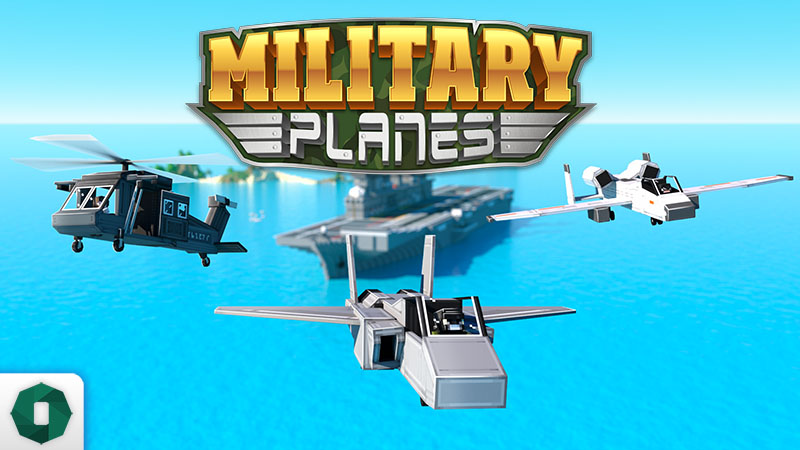 Military Planes on the Minecraft Marketplace by Octovon