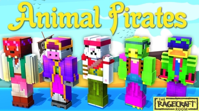 Animal Pirates on the Minecraft Marketplace by The Rage Craft Room