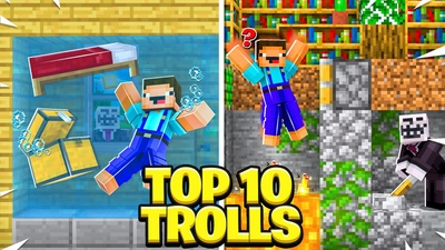 Top 10 Trolls on the Minecraft Marketplace by BLOCKLAB Studios