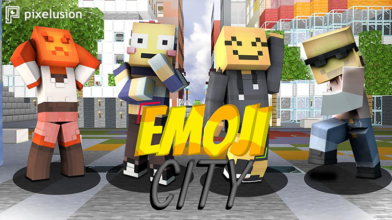 Emoji City on the Minecraft Marketplace by Pixelusion