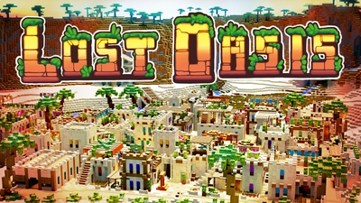 Lost Oasis on the Minecraft Marketplace by BTWN Creations