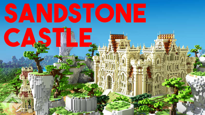 Sandstone Castle on the Minecraft Marketplace by RareLoot